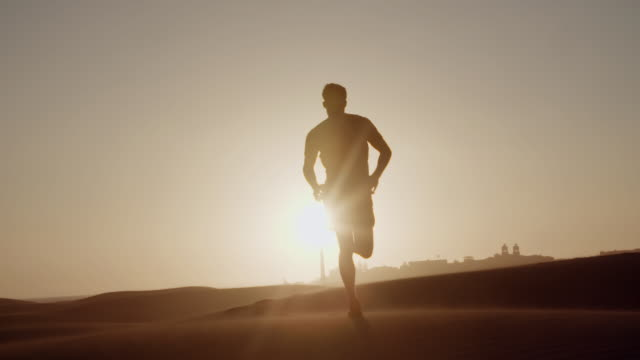 dune running - running stock videos & royalty-free footage
