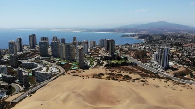 concón の砂丘/コンコン砂丘 - 南アメリカ点の映像素材/bロール