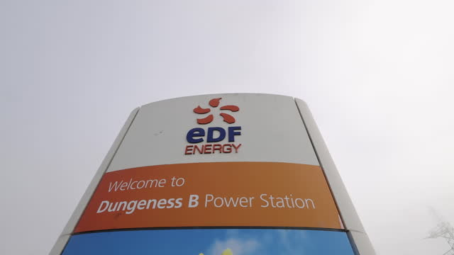dungeness 'b' power station ahead of early closure announced by operator edf, in dungeness, kent, u.k. on thursday, june 10, 2021. - power line stock videos & royalty-free footage