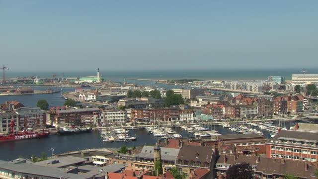 dunkirk harbour - frankreich stock-videos und b-roll-filmmaterial