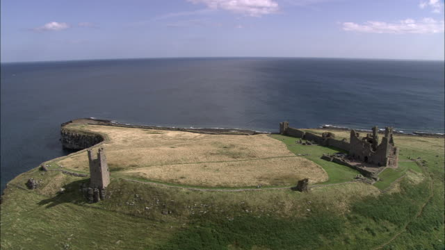 dunstanburgh castle - sequential series stock videos & royalty-free footage