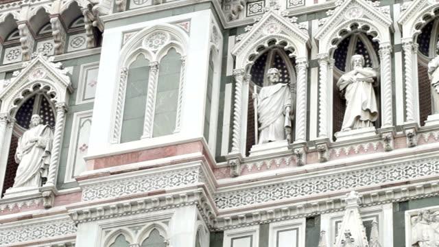 vidéos et rushes de hd : cathédrale duomo, florence - dôme