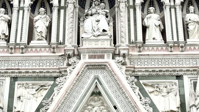 tm ドゥオモ大聖堂、フィレンツェ - 使徒点の映像素材/bロール