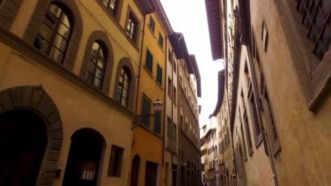vidéos et rushes de point de repère cathédrale duomo florence - lieu touristique
