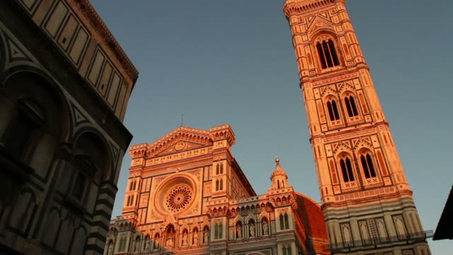stockvideo's en b-roll-footage met duomo santa maria del fiore in florence video hd - florence italië