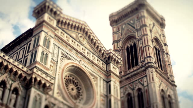 duomo santa maria del fiore in florence video hd - fiore stock videos & royalty-free footage