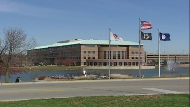 dupage county judicial center in wheaton il - dupage county stock videos & royalty-free footage