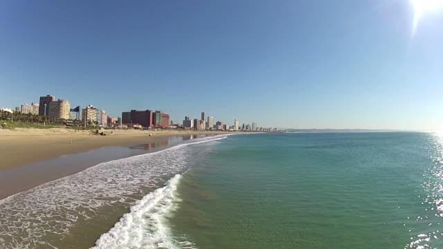 Durban Skyline with seascape - South Africa