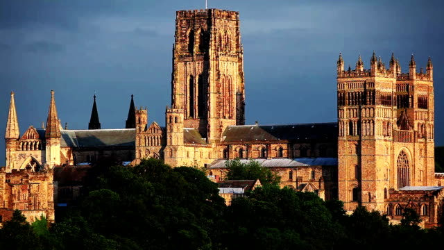 durham cathedral - durham england stock videos & royalty-free footage