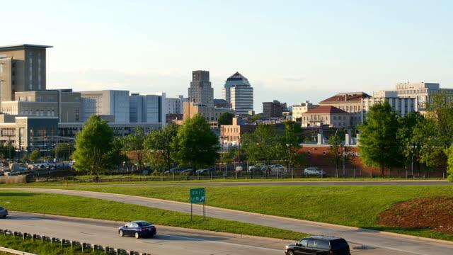 ダーラム、ノースカロライナ州 - ノースカロライナ州点の映像素材/bロール