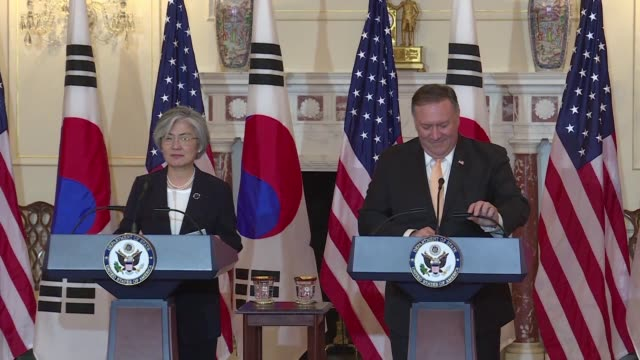 During a meeting with his South Korean counterpart US Secretary of State Mike Pompeo says there is a complete agreement about what the ultimate...