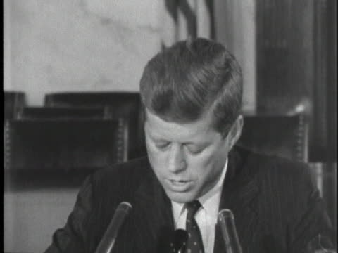 during a presidential campaign appearance, us senator john f. kennedy attacks republicans on the lack of civil rights legislation. - human rights or social issues or immigration or employment and labor or protest or riot or lgbtqi rights or women's rights stock videos & royalty-free footage