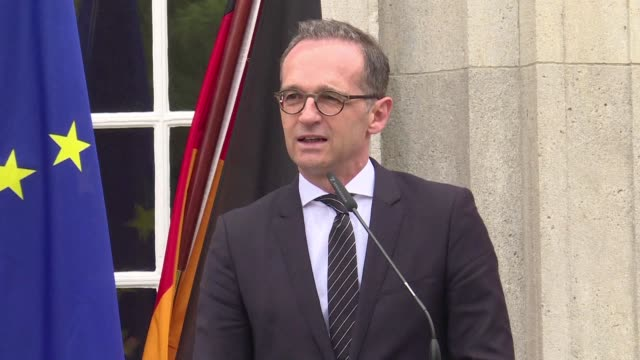 During a press conference in Berlin German Foreign Minister Heiko Maas reacted to the controversy provoked by the new US ambassador Richard Grenell a...