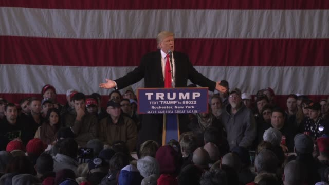 During a rally in Rochester New York US presidential candidate and businessman Donald Trump claimed that he predicted the attacks in Brussels and...