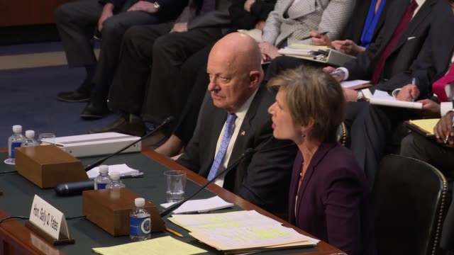 During a Senate Judiciary subcommittee hearing on Russian interference into the 2016 election former acting US Attorney General Sally Yates tells the...