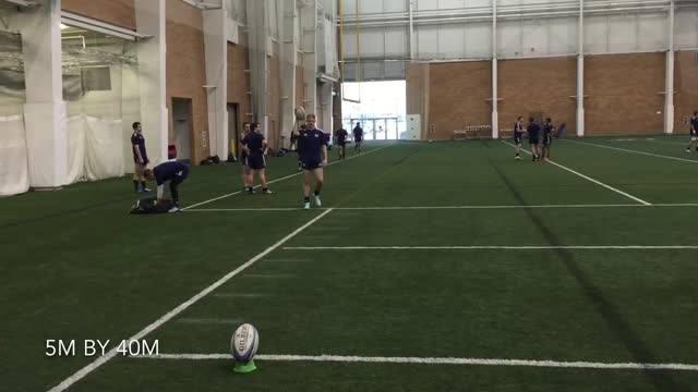 during a week-long rugby training session at the brigham young university in provo, utah, talented young players showed off their skills for setting... - provo stock videos & royalty-free footage