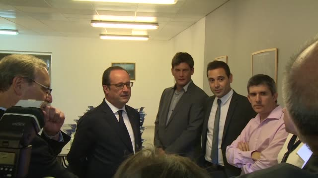 during an official visit to uruguay thursday french president francois hollande stopped by the pasteur institute where he spoke with researchers and... - biochemist stock videos & royalty-free footage
