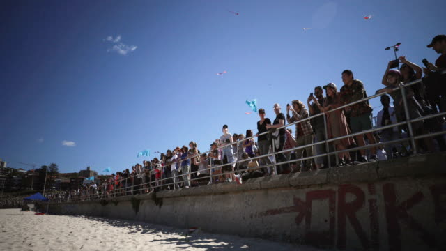 XXX during the Festival of the Winds in Bondi on September 09 2018 in Sydney Australia Festival of the Winds is Australia's largest kite festival and...