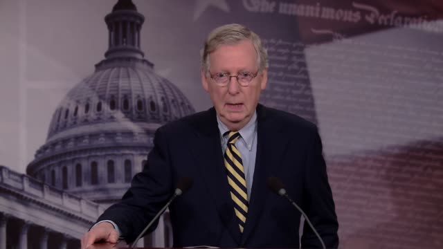 During the final US Senate leadership press conferences before the US Election Senate Majority leader Mitch McConnell is asked point blank why he...