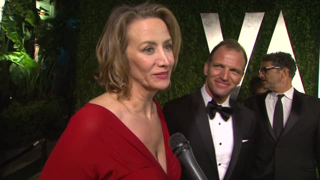 vídeos de stock, filmes e b-roll de during the oscars and on getting star struck at sunset tower on february 26 2012 in west hollywood california - janet mcteer