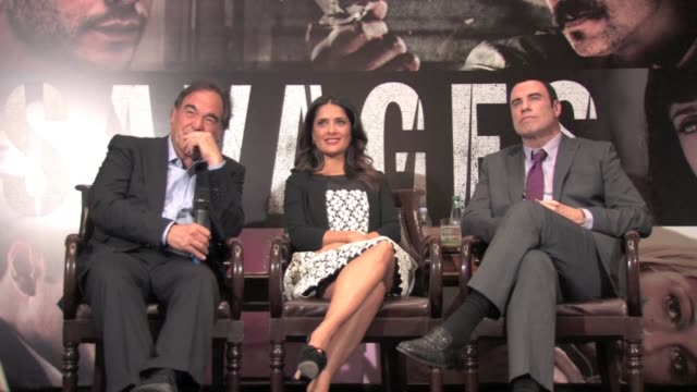 during the paris savages press conference john travolta was asked how to keep marriage and romance alive after 21 years of marriagebrave question... - an answer film title stock videos & royalty-free footage