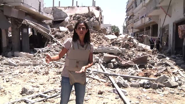 During the past 11 hours the people of Gaza have taken the opportunity to gather supplies and to try to recover bodies buried under the rubble The...