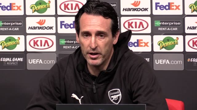 During the press conference ahead of the Europa League match against Rennes Arsenal head coach Unai Emery refused to follow some of his counterparts...