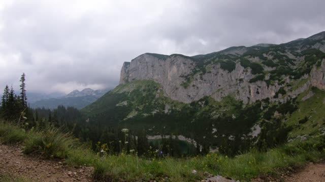 durmitor national park timelapse - durmitor national park stock videos & royalty-free footage