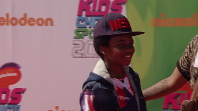 dusan brown nickelodeon kids' choice sports awards 2014 at pauley pavilion on july 17 2014 in los angeles california - nickelodeon stock videos & royalty-free footage
