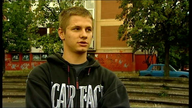 dusan milesnovic interview sot - ratko mladic stock videos & royalty-free footage