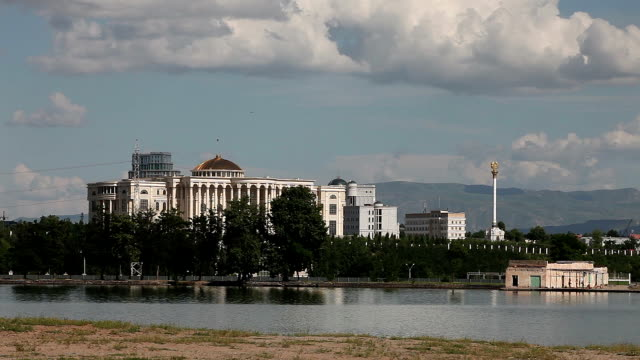 Dushanbe. View of the Palace of Nations (Presidential Palace)