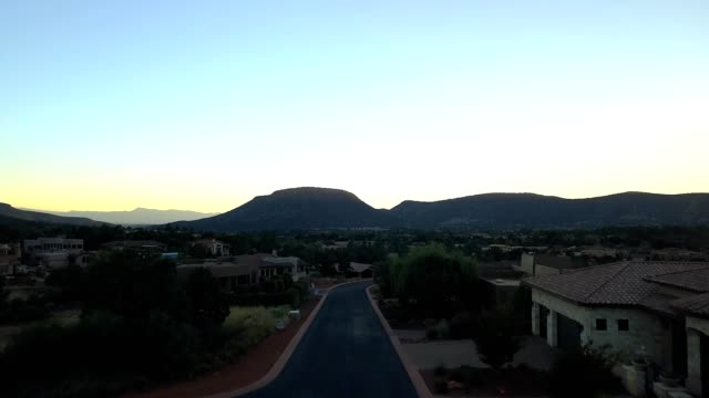 dusk flight in sedona, arizona - mesa stock videos and b-roll footage
