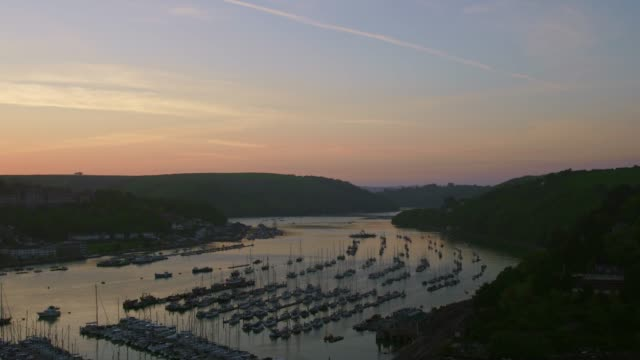 Dusk over Dartmouth Harbour