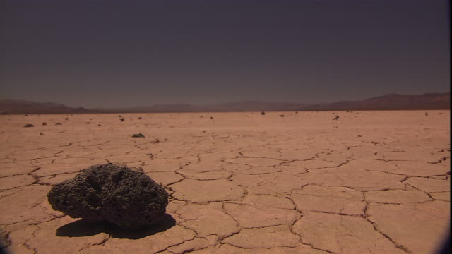 dust blows across the desert. - nevada stock-videos und b-roll-filmmaterial