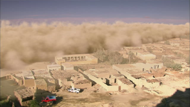 dust storm from sahara desert - dust storm stock videos & royalty-free footage