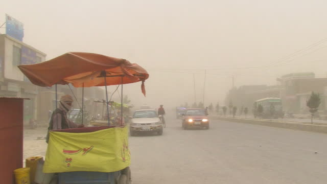 dust storm in afghanistan - dust storm stock videos & royalty-free footage