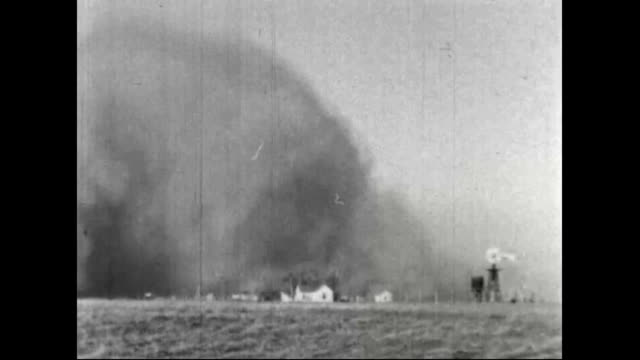 dust storms during the dust bowl - dust bowl stock videos and b-roll footage