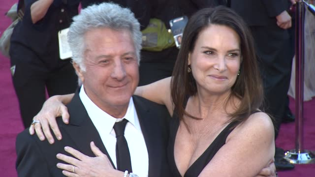 dustin hoffman at 85th annual academy awards arrivals on 2/24/13 in los angeles ca - dustin hoffman video stock e b–roll