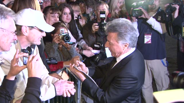 dustin hoffman at the 2009 palm springs international film festival at los angeles ca - dustin hoffman video stock e b–roll