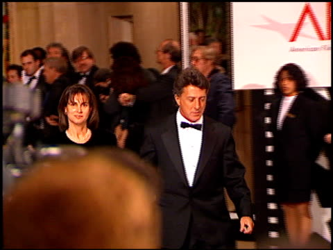 Dustin Hoffman at the AFI Honors Honoring Clint Eastwood entrances at the Beverly Hilton in Beverly Hills California on March 1 1996