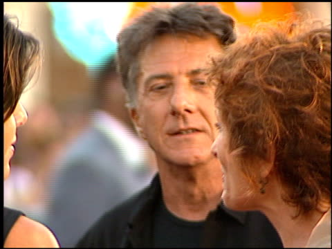 dustin hoffman at the 'eyes wide shut' premiere at the mann village theatre in westwood, california on july 13, 1999. - regency village theater stock videos & royalty-free footage