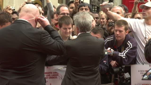 dustin hoffman at the last chance harvey uk premiere at london england. - ダスティン・ホフマン点の映像素材/bロール