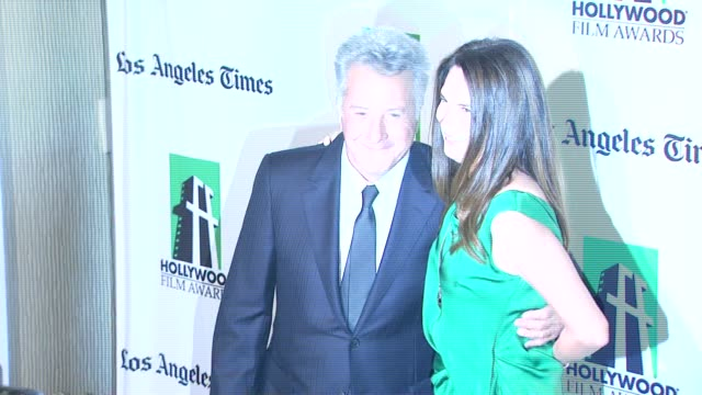 dustin hoffman lisa gottsegen at 16th annual hollywood film awards gala on 10/22/12 in los angeles ca - dustin hoffman video stock e b–roll