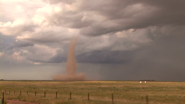 dust-tube tornado - dust storm stock videos & royalty-free footage