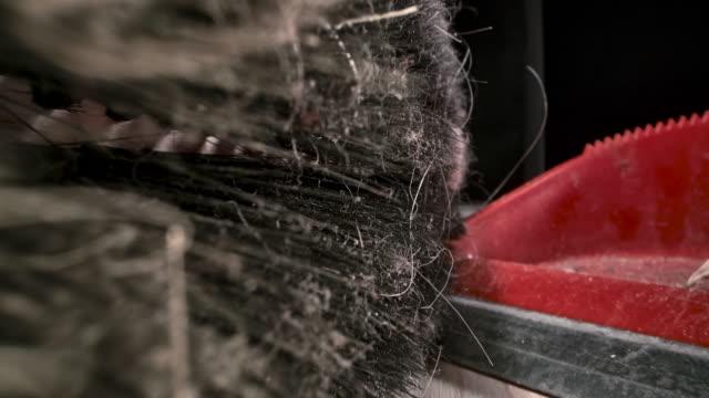 dusty broom - sweeping stock videos & royalty-free footage