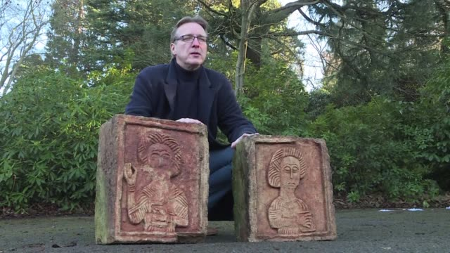 A Dutch art detective has returned two priceless stone reliefs stolen from an ancient Spanish church after tracing them to an English nobleman's...