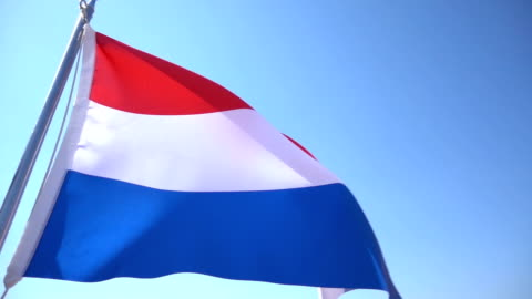 dutch flag - flag stock videos & royalty-free footage