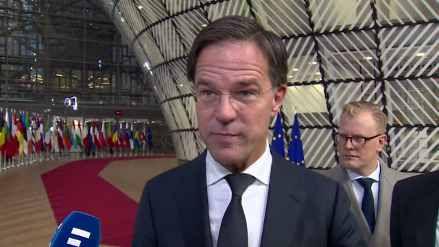 Dutch Prime Minister Mark Rutte saying Theresa May's final Brexit deal being agreed by the EU means 'there are no victors here today we are all...