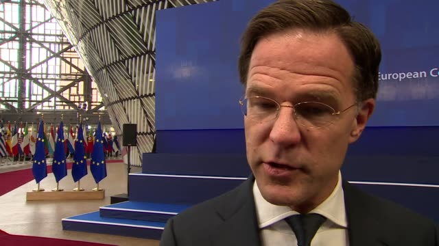Dutch Prime Minister Mark Rutte saying too many MP's have 'played party politics' with Brexit and he hopes Parliament 'does the right thing and vote...