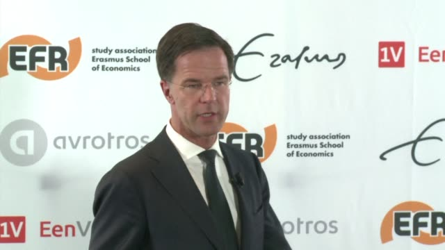dutch prime minister mark rutte urges the netherlands to be the first country to stop what he called the wrong sort of populism which is on the rise... - populism stock videos and b-roll footage